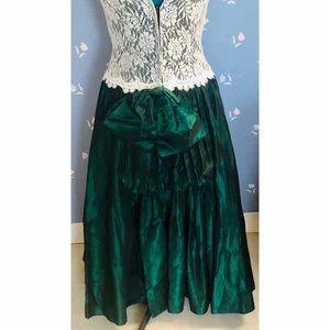 Jessica McClintock Dresses - Vintage 80's Prom Dress